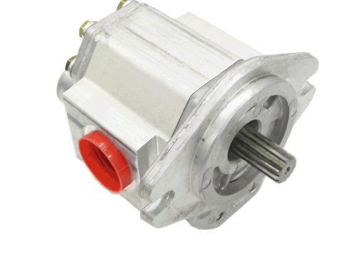 Aluminum Gear Pump - Prince Manufacturing SP25A38A9H1-R Hydraulic Gear Pump, 56.57 HP Motor, 3000 PSI Maximum Pressure, 28.77 GPM Maximum Flow Rate, Clockwise Rotation, Self-Lubricating, SAE B Flange, Aluminum