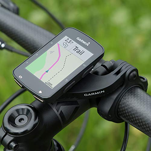 Garmin Edge 520 Plus Mountain Bike Bundle, GPS Cycling/Bike Computer for Competing and Navigation, Includes Mountain Bike Mount