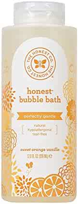 Honest Bubble Bath, Sweet Orange Vanilla, 12 Ounce