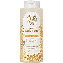 Honest Bubble Bath, Sweet Orange Vanilla, 12 Ounce