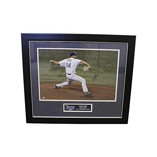 (David Price Autographed Signed Tampa Bay Rays 16x20 Photo- Sports Collectibles Authentication)
