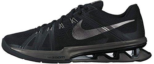 Nike Mænd Reax Lightspeed Sneakers, Sort Sort / Grå / Sølv (sort / Mørkegrå-anthrct Mtlc)