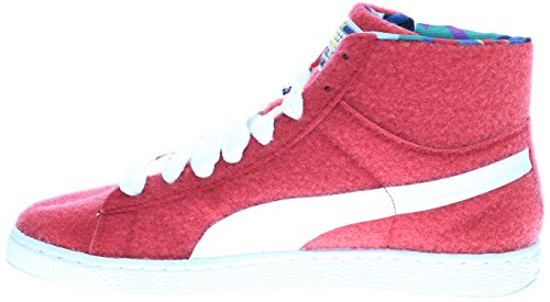 PUMA Select Mens Basket Mid X Dee & Ricky Sneakers Ribbon Red/White ZxT88kA07