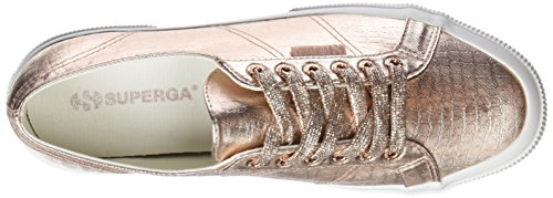 Rosa para 2750 Zapatillas Mujer Cotmetembos S916 Gold Rose Superga 6XFScqq