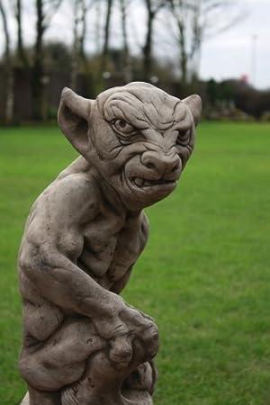 Delightful Ugly Gargoyle Garden Statue Free UK Mainland Delivery