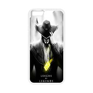 DIY Printed League of Legends hard plastic case skin cover For iPhone 6 4.7 Inch SN9V292995
