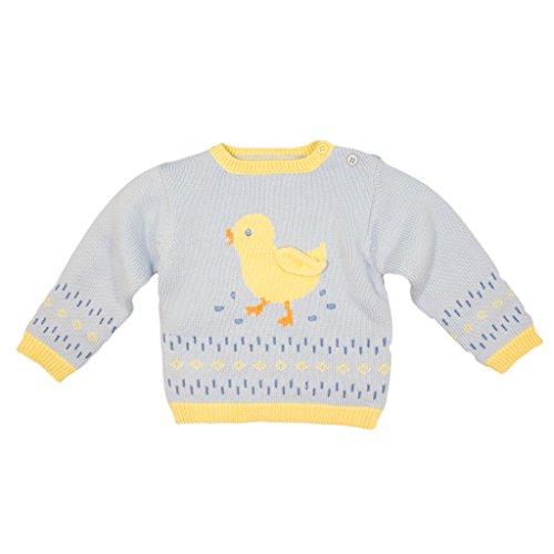 - Zubels 100% Hand-Knit Duckling Sweater All Natural Fibers
