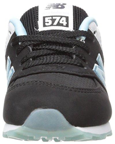 New Balance KL574 State Fair Running Shoe (Infant/Toddler) Black/Blue