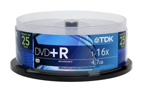 TDK 4.7GB 16x DVD+R