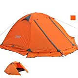 Tent 2 Person Camping Tents 4 Season Windproof Waterproof Tentage with Carry Bag Easy Setup for Camping Hiking Backpacking Climbing by Mounchain
