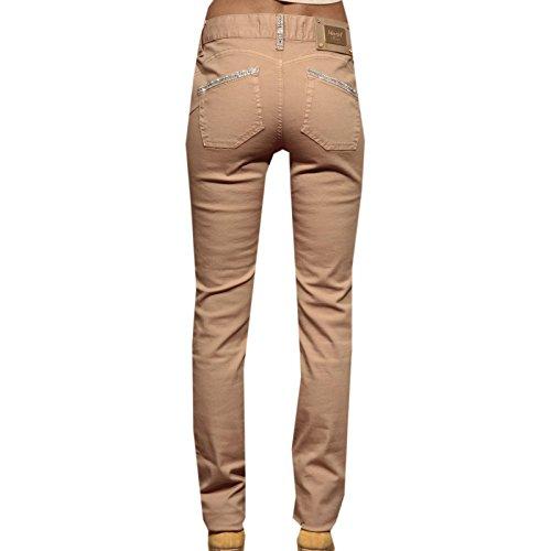Jeans Trousers Donna Tasche Cinque 80165 Women Beige Pantaloni BLUMARINE BLUGIRL TYq40XPY