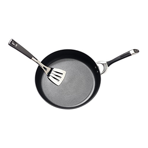 Circulon Symmetry Hard Anodized Nonstick 8-1/2-Inch French Skillet, Black