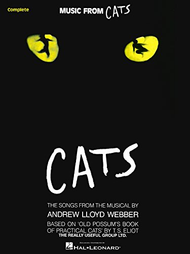 - Cats Songbook: Vocal Arrangement with Piano Accompaniment