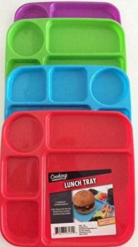 Blue Tray Cafeteria - Lunch Tray (Blue)