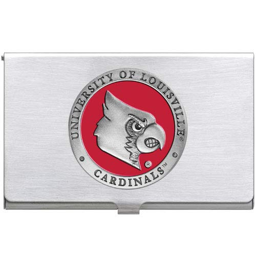1pc Pewter University of Louisville Business Card Case