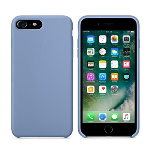Creazy Leather Slim Case Cover Shell For iPhone 7 4.7 Inch (light Blue)