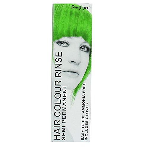 neon green hair dye permanent - 4