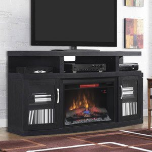 Cantilever Infrared Electric Fireplace Media Cabinet   26MM5508 NB04