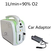HouseHold Server Portable Oxygen Concentrator Generator, Air Purifier Oxygen Generator, Car Adapter Portable Oxygen Machine Home Use