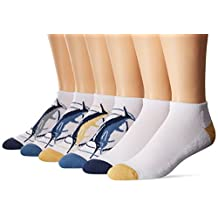 Tommy Bahama Men's Chill Out Low Cut Socks (Pack of 6)