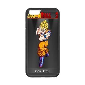Goku Dragon Ball Z Anime iPhone 6 Plus 5.5 Inch Cell Phone Case Black yyfabc-408442