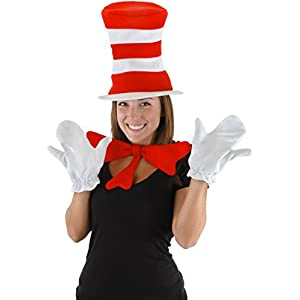 Dr Seuss The Cat in the Hat – The Cat in the Hat Accessory Kit (Adult)