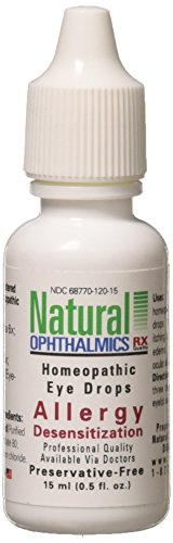 Natural Ophthalmics Allergy Desensitization Eye Drops, 0.5 Ounce