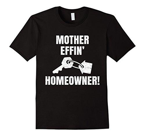 Mens Housewarming Gifts - New Homeowner Gifts - Realtor Shirt XL Black