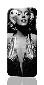 SUUER Marilyn Monroe ipod touch 5 ipod touch 5 3D Case , Designer Personalized Custom Plastic Hard CASE for ipod touch 5 ipod touch 5 Durable New Style ROUGH Skin 3D Case Cover