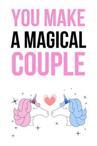(You Make A Magical Couple: Cute Journal / Notebook / Notepad / Diary (Alternative Wedding Card) (Lined, 6