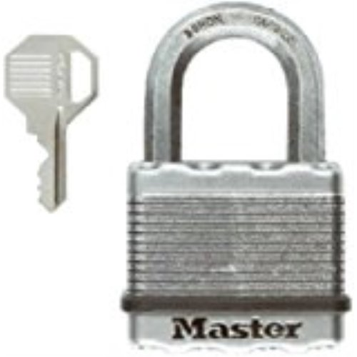 Dual 2 Magnum - Master Lock Padlock, Magnum Laminated Steel Lock, 2 in. Wide, M5XKAD