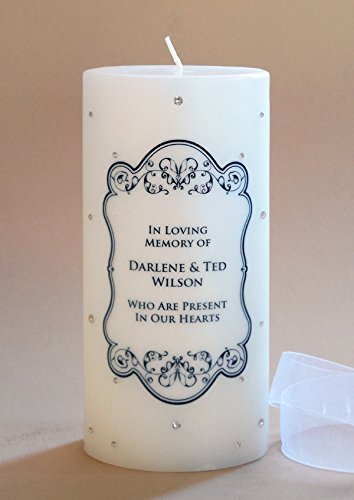 (Vintage Swarovski Crystal Personalized 3x6 Memorial)