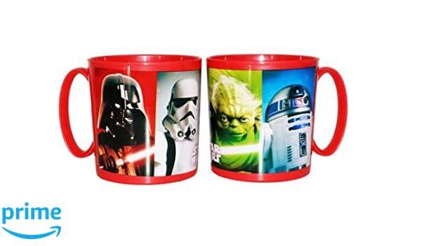 ALMACENESADAN 2115; Taza Apta para microondas Star Wars; 350 ml ...