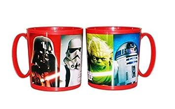 ALMACENESADAN 2115; Taza Apta para microondas Star Wars; 350 ...