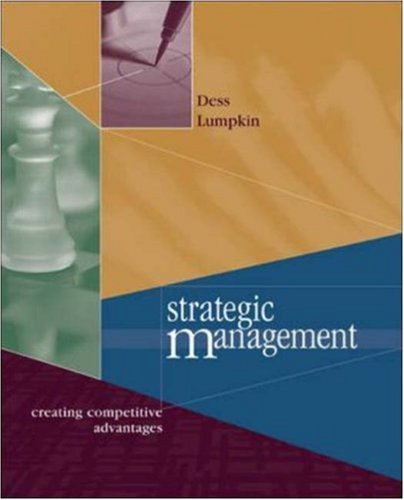 Strategic Management: Creating Competitive Advantage
