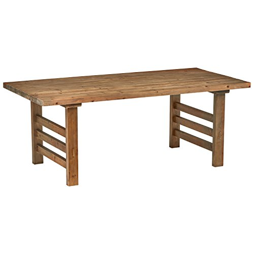 Stone & Beam Reclaimed Fir Rustic Wood Dining Table, 30