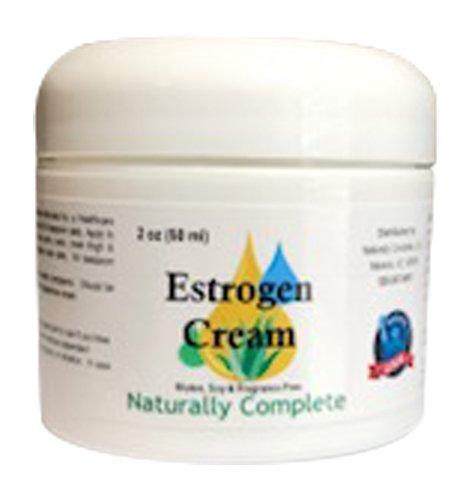 Naturally Complete Estrogen Cream 2 oz. Jar | Non GMO | Soy Free | Gluten Free | Fragrance Free - Wild Yam Vaginal Moisturizing Gel