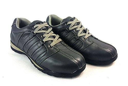 tobillo de de zapatos UK acero Gris para 8 de Gorra zapatillas HIKER Gris inoxidable hombre deporte EUR talla para Starex con 42 pzxXwq6