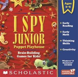 I Spy Junior Puppet Playhouse