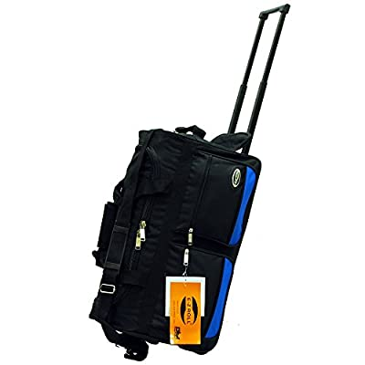 043e0d2c54 60%OFF E-Z Roll Two Tone Sports Rolling Duffel Bag 22