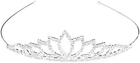 TOOGOO(R) Wedding Women Girl Rhinestone Headband Head Crown Princess Jewelry