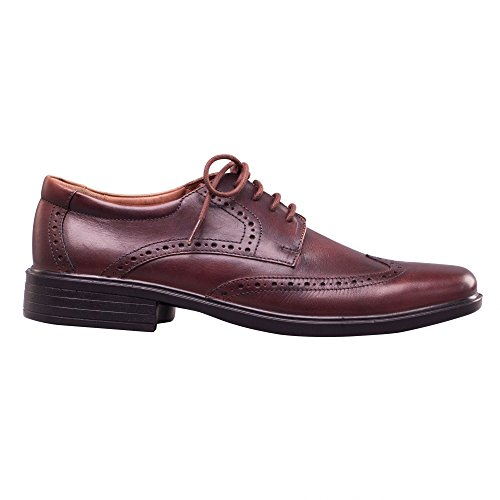 À Chaussures Lacets antique Padders Brown Brogues Homme Marron Riley Brown tpf1qwv