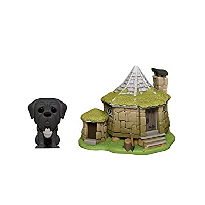 Funko Pop! Town: Harry Potter - Hagrid's House with Fang: Toys & Games