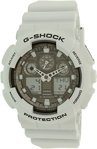 Casio G Shock Digital Analog GA100 GA100LG 8A