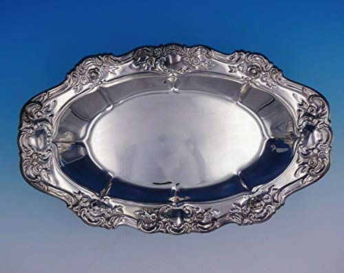 (Old Master by Towle Silverplate Bread Tray #4083 13