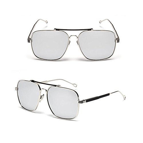Mirror Hipster Metal Silver Retro Women Eyewear Vintage Frame Silver Sunglasses Frame Square Men Meijunter soleil New Lunettes de wfqF5ICxTt