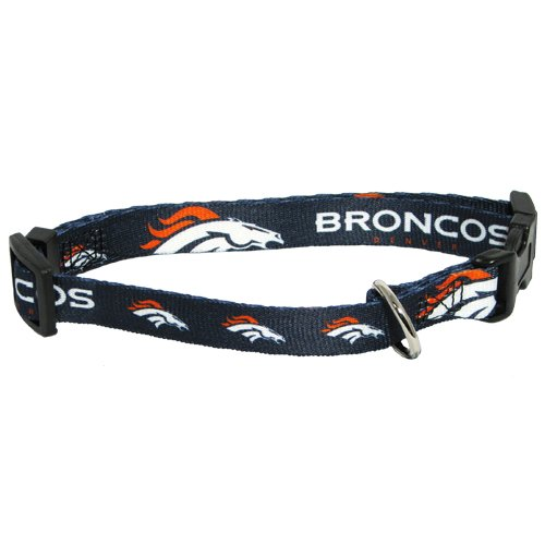 Hunter MFG Denver Broncos Dog Collar, Medium