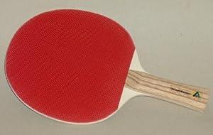2 Tischtennisschläger stabil Noppengummi CE