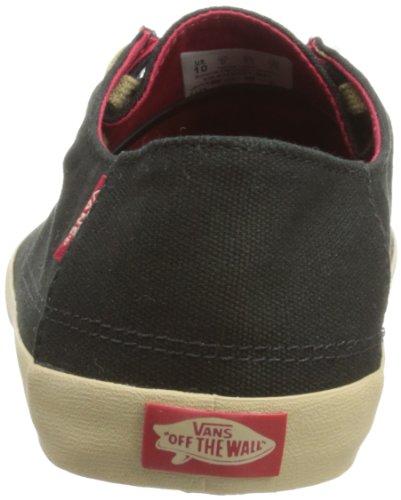 Vans Rata Vulc VJXM6ET - Zapatillas de deporte de lona para hombre Negro
