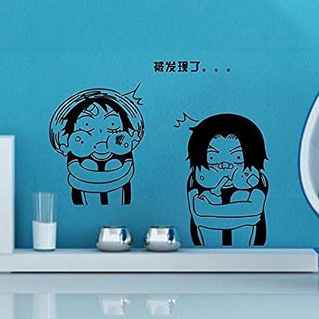 Baobaoshop Luffy Wall decalcomics y animación Sticker Logo Decal ...